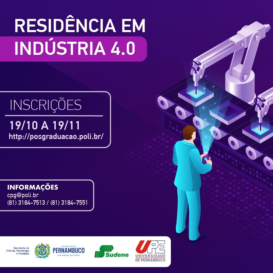 Aprovados para Residência em Indústria 4.0